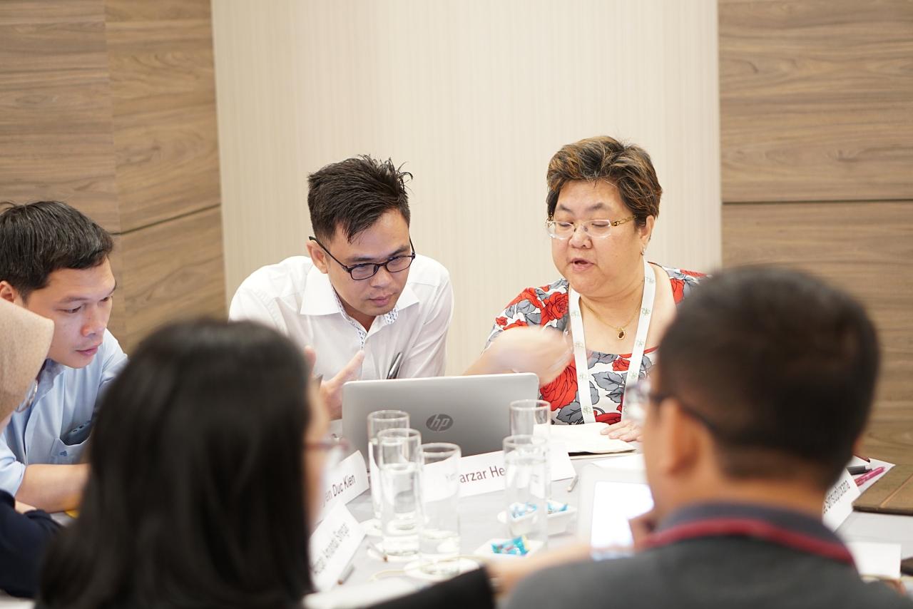 Học viên tham gia thí nghiệm, thảo luận và thiết kế nghiên cứu
